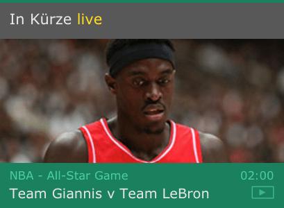 Basketball im Livestream von bet365